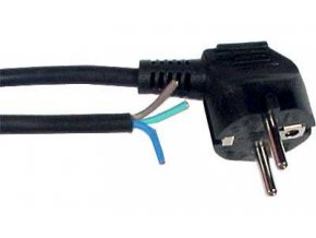 Flexo s voľným koncom 3x0,75mm 2m čierna