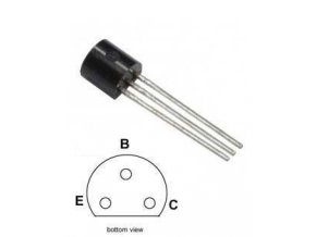 BC556B P UNI 65V / 0,1A / 0,5W 100MHz TO92
