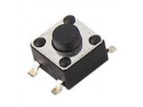 Mikrospínač KFC-045B-3,8, 4,5x4,5mm v = 3,8mm pre SMD