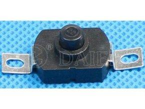 Vypínač stláčacie PBS-09 ON-OFF 30V / 1A, 12,6x8,1mm