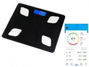 Analytická Osobná digitálna váha s bluetooth