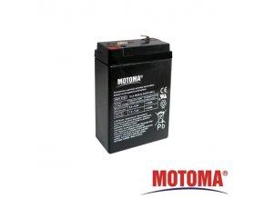 Baterie olověná   6V /  2,8Ah  MOTOMA bezúdržbový akumulátor