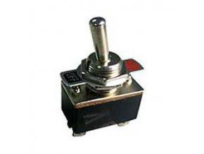 Vypínač páčkový KN3-2, ON-OFF a OFF-ON 1pol. 250V / 2A
