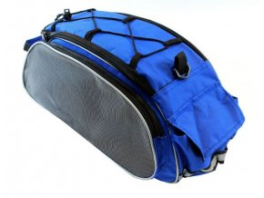 Taška na nosič bicykla, modrá