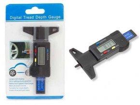 Posuvné meradlo -Šuplera pre meranie hĺbky dezénu pneumatík, digitálne