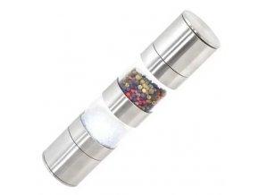 Mechanický mlynček na soľ a korenie 2v1
