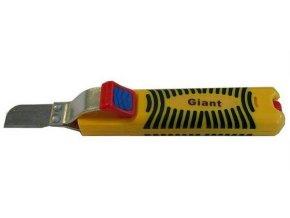 Odizolovacie nôž GIANT, nastaviteľný 8-28mm s rovnou čepeľou