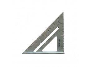 Hliníkový trojuholník pravítko 7-palcový, KRAFT DELE