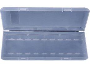 Krabička pro 10 nabíjecích článků 18650 70x188x21mm