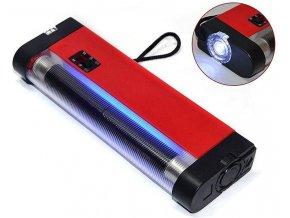Tester bankovek s UV zářivkou a LED svítilna AD-998