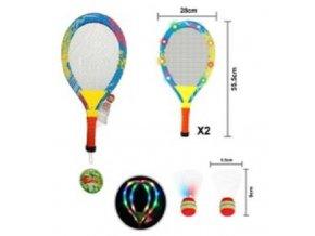 Badminton s LED osvetlením, + košíky