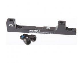 adaptér kotoučové brzdy Shimano přední/zadní 203mm post mont original balení