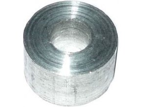 Dištančné stĺpik 10x6mm, otvor 4mm, hliníkový