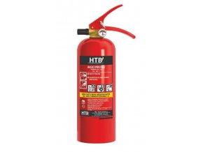 Hasiaci prístroj práškový 2kg (13A 89 B / C) ABC (plastový ventil)
