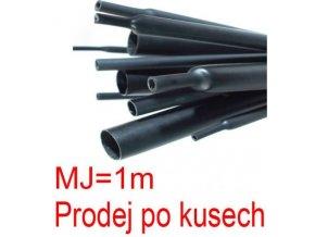 Smršťovací bužírka s lepidlem 4,8/1,6mm černá, balení 1m