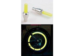 čepička ventilku LED žlutá