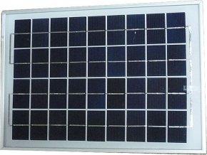 Fotovoltaický solárny panel 12V / 10W polykryštalický 370x250x18mm