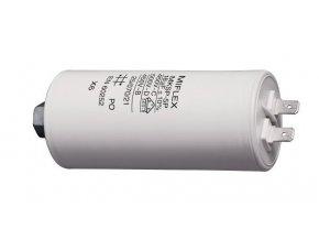 18uF / 450V motorový kondenzátor MKSP-5P - fastony, 45x88mm