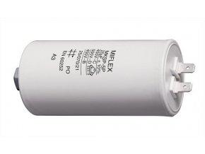 25uF / 450V motorový kondenzátor MKSP-5P - fastony, 45x83mm