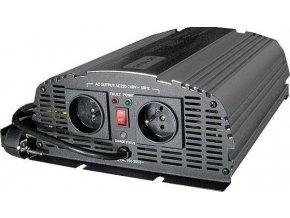 Menič napätia + UPS 12V / 230V / 1000W, CARSPA CPS1000, čistá sinus., Použitý