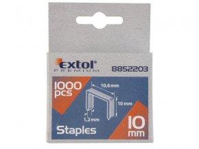 Spony 10mm EXTOL PREMIUM 8852503 1000ks