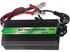 Nabíjačka Pb akumulátorov CARSPA ENC1220 12V / 20A s automatikou