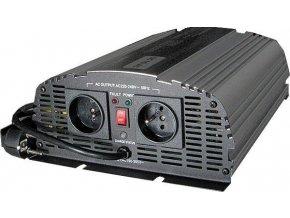Menič napätia + UPS 12V / 230V / 1000W, CARSPA CPS1000, čistá sínusoida