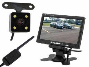 """Bezdrôtová cúvacia kamera s monitorom LCD 7 """""""