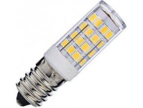 Žiarovka LED E14 corn, 51xSMD2835, 230V / 3,5W, teplá biela