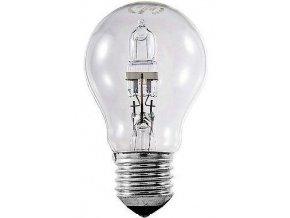 Žiarovka E27 A60 hrušková halogénová, 230V / 52W