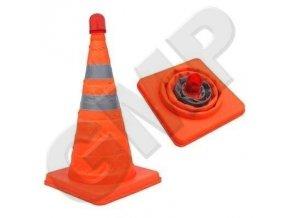 Oranžový výstražný kužeľ