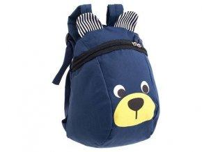 Detský batôžtek medvídek- modrý