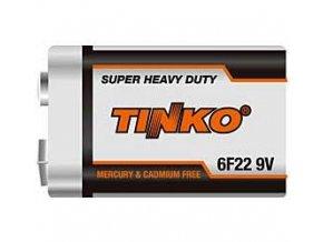 Batérie Tinka 9V 6F22, Zn-Cl