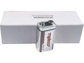 Batérie Tinka 9V 6F22, Zn-Cl, balenie 10ks