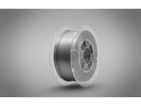 Tlačová struna Swift PET-G hliník / aluminium, Print-Me, 1,75mm, 1kg