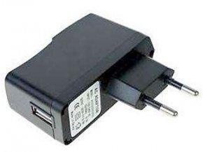 Napájač, sieťový adaptér USB 5V / 2,4A spínaný, koncovka USB