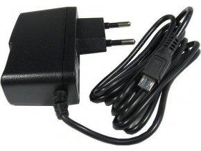 Napájač, sieťový adaptér USB 5V / 2A spínaný, koncovka USB micro