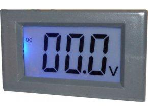 Digitálny panelový voltmeter JY-Y85, 100VDC, napájanie 6-12VDC
