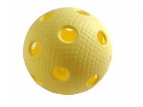 míček florbal Tempish Trix žlutý cerfitikát