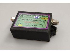 Anténny zosilňovač 16dB DVB-T2 s potlačením 5G LTE