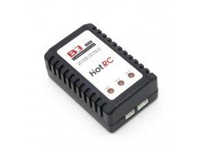 Nabíjačka HOTRC B3 10W 0,8A pre 2S-3S LiPo batérie