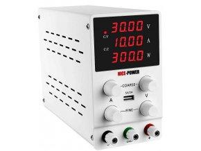 Laboratórny zdroj Nice-Power SPS3010 0-30V / 0-10