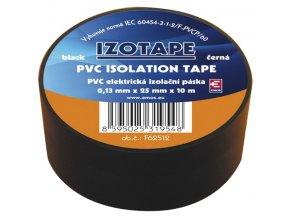 Páska izolačná PVC 25/10m čierna EMOS