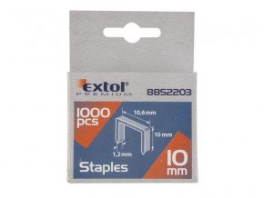 Spony 6mm EXTOL PREMIUM 8852201 1000ks