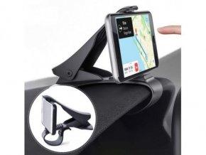 Univerzální držák mobilního telefonu na klip palubní desky