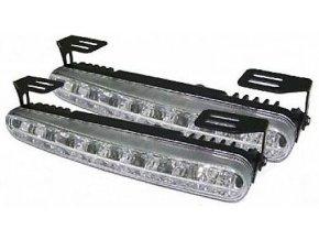 Svetlá pre denné svietenie DRL18 18xLED 12 / 24V, použité, chybné, nesvieti