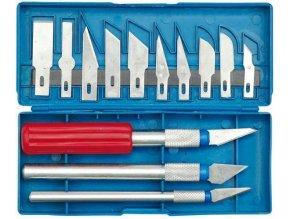 Nože na vyrezávanie, 16 dielov, Hobby