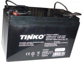 Pb akumulátor Tinka VRLA AGM 12V / 100Ah polotrakční