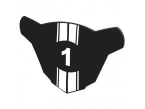 číslo startovní BMX