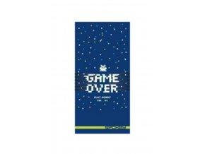 ručník rychleschnoucí Spokey GAME OVER 80x160cm